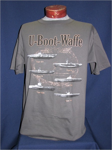 U-Boat Wolfpack T-shirt – The Soldier and War Shop