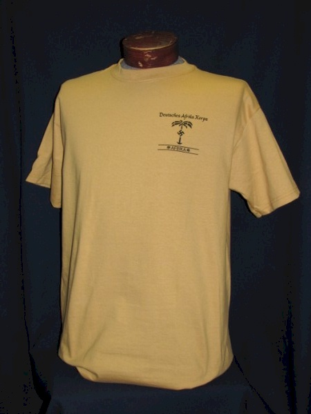 Afrika Korps Insignia Tee The Soldier And War Shop