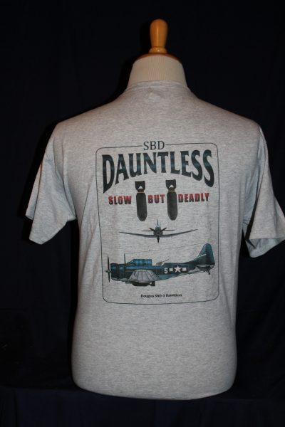 Dauntless SBD-3 T-Shirt – The Soldier and War Shop