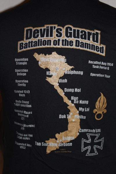 Devils Guard French Indochina T Shirt The Soldier And