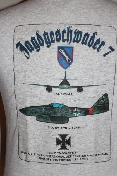 """JG7 """"NOWOTNY"""" T-Shirt – The Soldier and War Shop"""