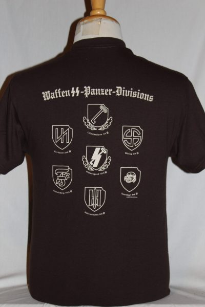 Waffen Ss Panzer Division Ss Runes T Shirt The Soldier