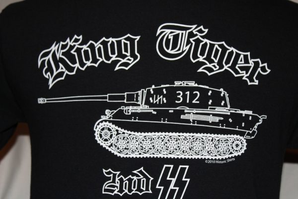 2nd Ss Das Reich King Tiger 312 T Shirt The Soldier And War Shop