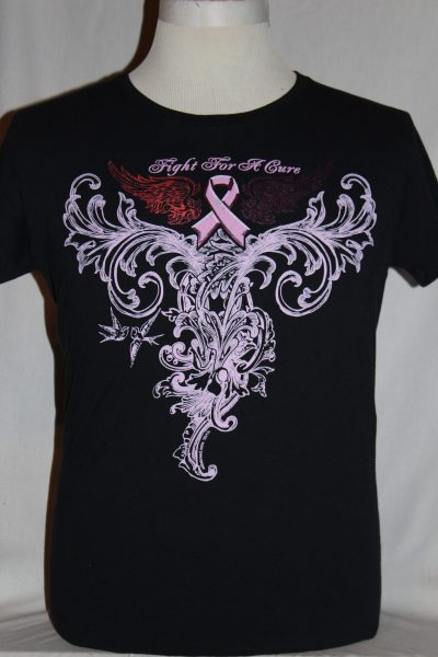 Breast Cancer Elite Breed Pink Foil T Shirt The Soldier