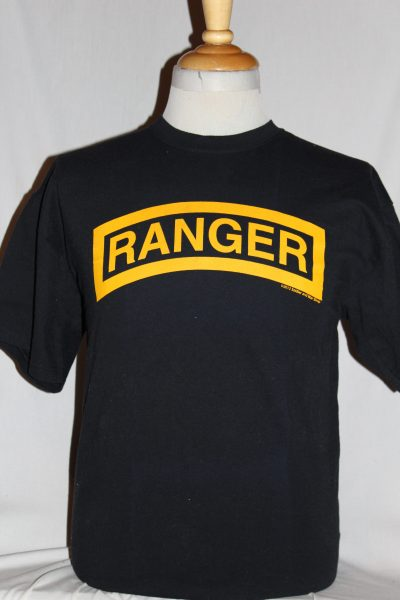 Us Army Ranger T Shirt The Soldier And War Shop