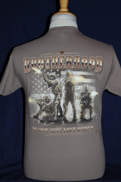 US Military Brotherhood T-Shirt – The Soldier and War Shop